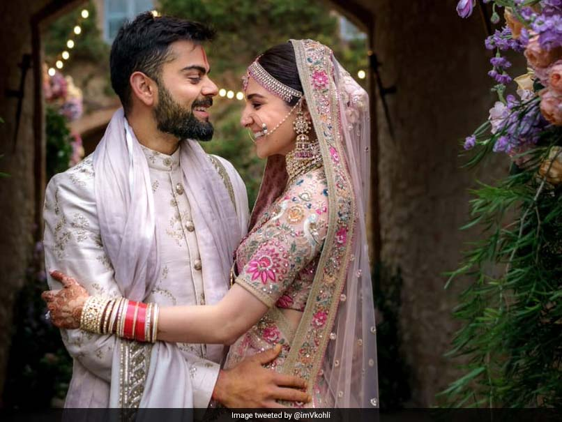 Virat Kohli Wedding.Virat Kohli Anushka Sharma 1st Marriage Anniversary India Skipper