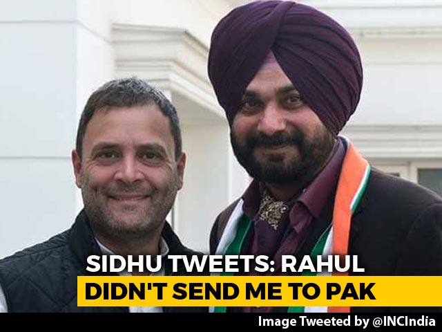 "Video : ""Rahul <i>Ji</i> Never Asked Me To Go To Pak"": Navjot Sidhu After ""Captain"" Dig"