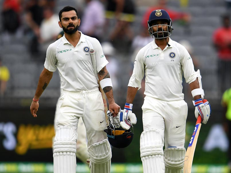 2nd Test: Kohli, Rahane Lead India's Charge vs Australia On Day 2