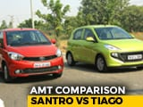 Video : Hyundai Santro AMT vs Tata Tiago AMT: Comparison Review