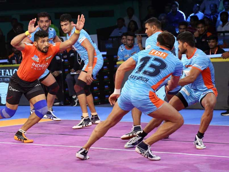 Pro Kabaddi League: U Mumba Hammer Bengal Warriors, Telugu Titans Beat Jaipur Pink Panthers