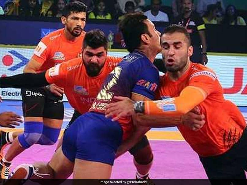 Pro Kabaddi League: U Mumba Thrash Dabang Delhi, UP Yoddha Edge Past Telugu Titans