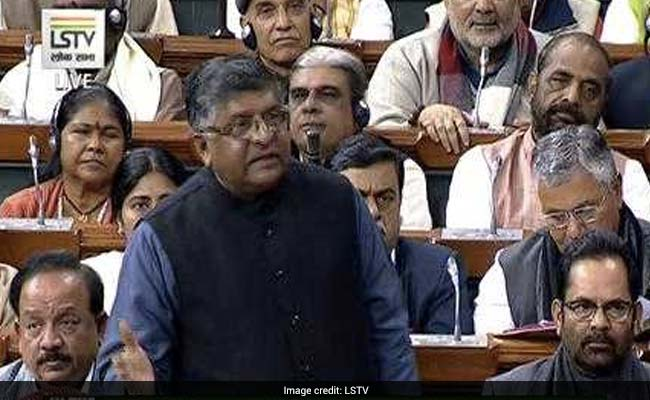 Triple Talaq About Woman Empowerment, Not Politics: Ravi Shankar Prasad