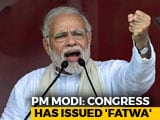"""Video : After Rahul Gandhi's """"Bharat Mata"""" Jibe, PM Modi's """"Fatwa"""" Retort"""