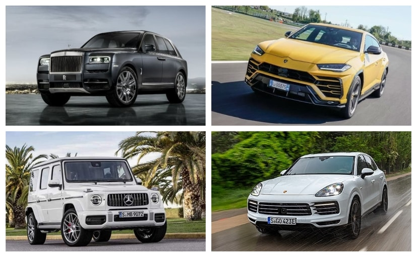 The Rolls-Royce Cullinan is the most expensive SUV in this list at Rs. 6.95 Crore
