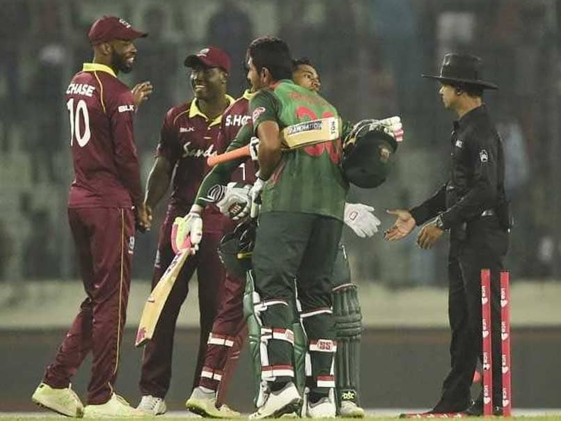 Mushfiqur Rahim Steers Bangladesh To Easy Win Against Windies In 1st ODI
