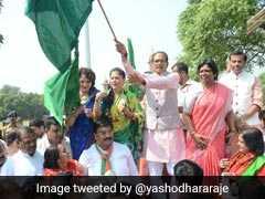 """Yashodhara Raje """"Very Hopeful"""" Of BJP Win In Madhya Pradesh"""