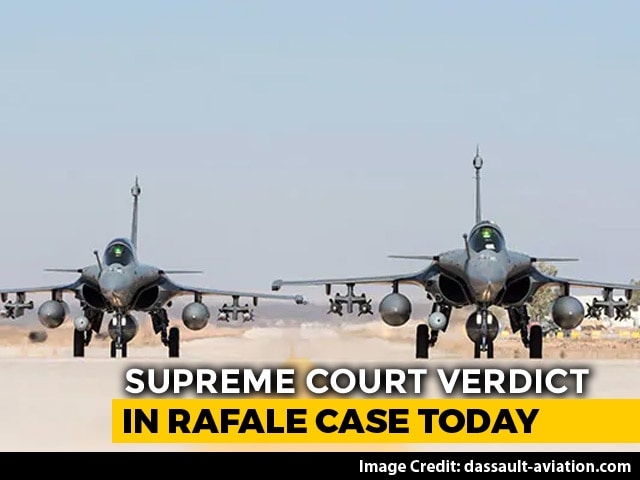 Video : Rafale Deal Supreme Court Verdict: Will A Probe Be Ordered? Verdict Today