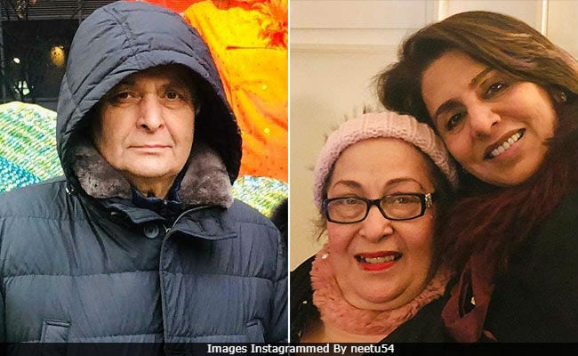 What Rishi Kapoor Did When Wife Neetu And Other 'Girls Partied'