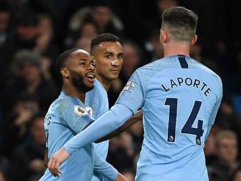 Sterling Sparkles As Man City Move 5 Points Clear, Palace End Winless Run