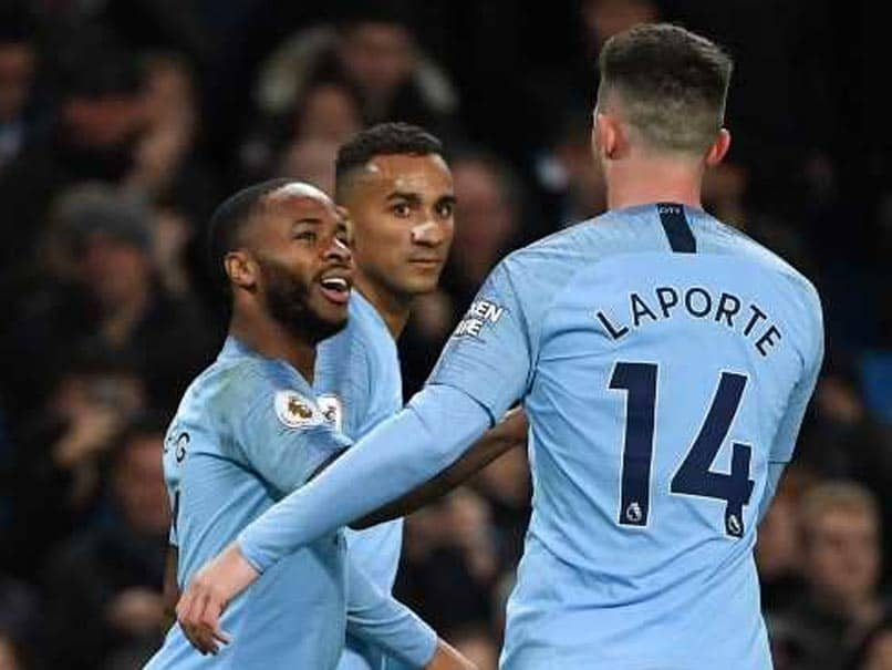 Raheem Sterling Sparkles As Manchester City Move Five Points Clear, Crystal Palace End Winless Run