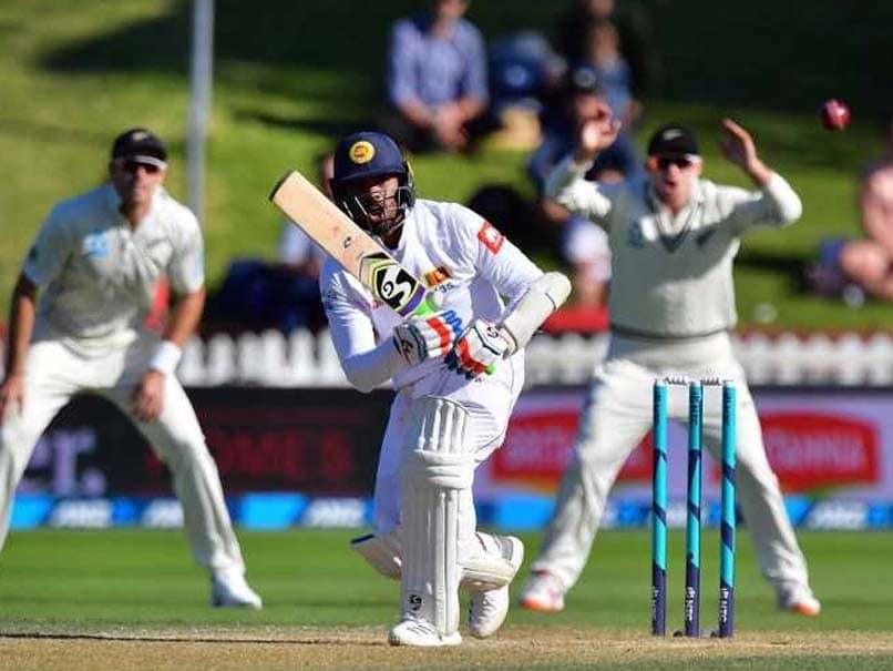Sri Lanka Battle To Rain-Hit Draw In New Zealand First Test