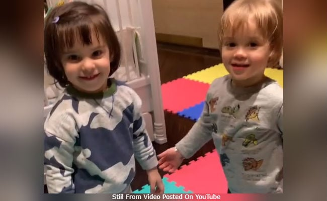 This 'Toodles' Video Of Karan Johar's Twins Roohi And Yash Is All About Sibling Love