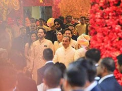 Isha Ambani - Anand Piramal Wedding: First Pictures From Ambani Residence