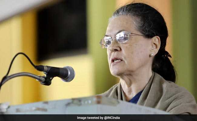 'We Owe A Great Debt To ISRO': Sonia Gandhi On Chandrayaan 2 Mission