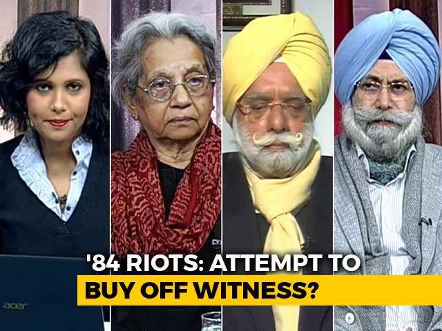 Video : Sajjan Kumar Threatened Me, Says 1984 Riots Witness