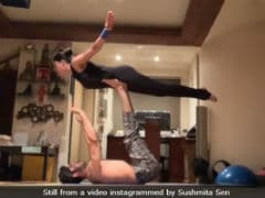 Sushmita Sen And Rohman Shawl's Workout Video Is 'Inspiring,' Says The Internet
