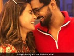 Hina Khan And Rocky Jaiswal's Instagram PDA Is 'Aww-dorable,' Says The Internet