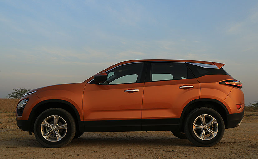New 2019 Tata Harrier SUV: Exterior Design And Features