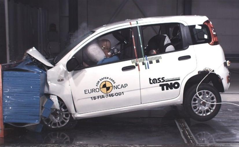 Euro NCAP Fiat Panda Crash Test