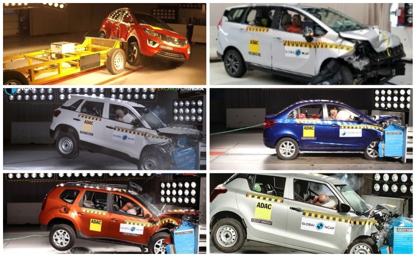Global Ncap Crash Tests How India Made Cars Have Fared Over The