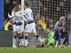 Tottenham Hotspur Qualify For Champions League Last 16 As Lucas Moura Earns Draw Against Barcelona