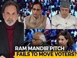 "Video : ""At Elections, You Start '<i>Mandir</i>'"": Farooq Abdullah vs RSS Ideologue"