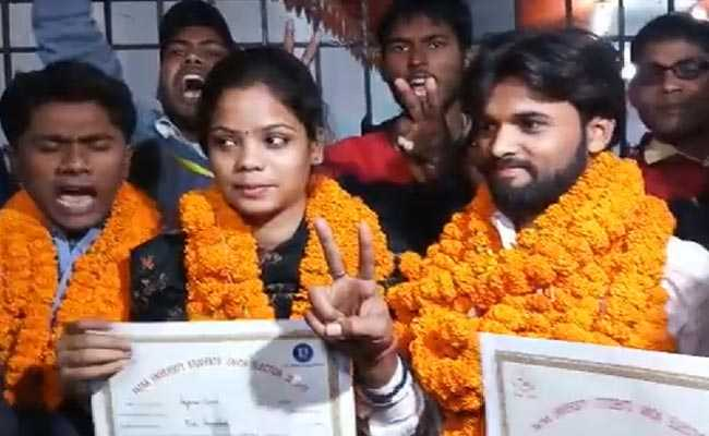 पटना विश्वविद्यालय छात्र संघ चुनाव: जेडीयू ने अध्यक्ष पद किया कब्जा तो एबीवीपी ने अपने नाम किए तीन अहम पद