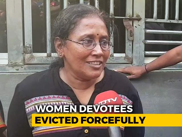 Video : Cops Should Back Off If They Can't Take Us To Shrine: Sabarimala Woman