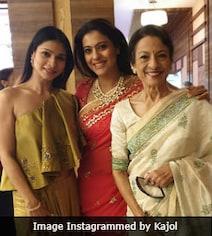 The Internet Loves Kajol's Rare Pic, Featuring Tanuja And Tanisha Mukerji
