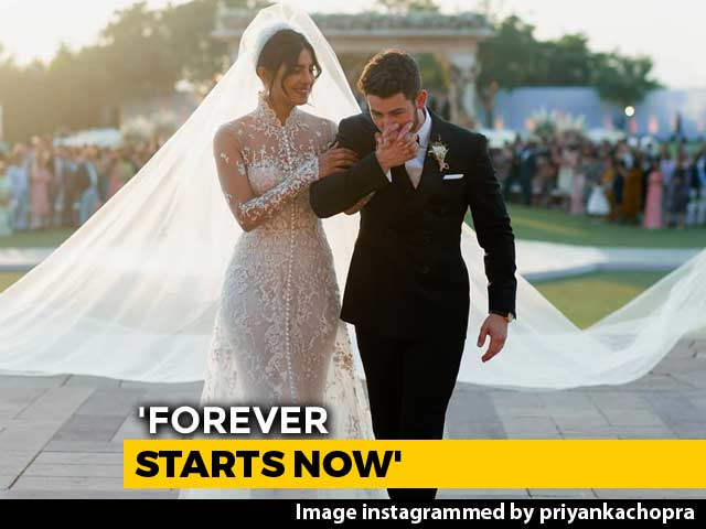 Video : Priyanka Chopra And Nick Jonas Post Wedding Pics: 'Forever Starts Now'