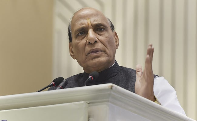Who Will Run Mahagathbandhan Vehicle, It Is Directionless: Rajnath Singh