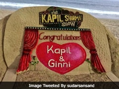 To Kapil Sharma And Ginni Chatrath, With Love From Sand Artist Sudarsan Pattnaik
