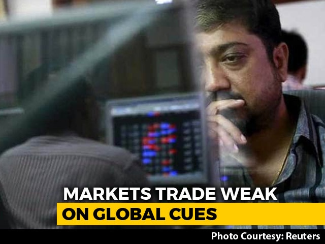 Video : Sensex Sheds Over 400 Points, Nifty Below 10,600 Amid Selloff Across Sectors