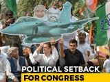 "Video : ""Not A Setback At All,"" Says Congress On Rafale Order"