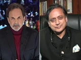"Video : ""How Long Will People Pay For Empty Packages?"" Shashi Tharoor On PM Modi"