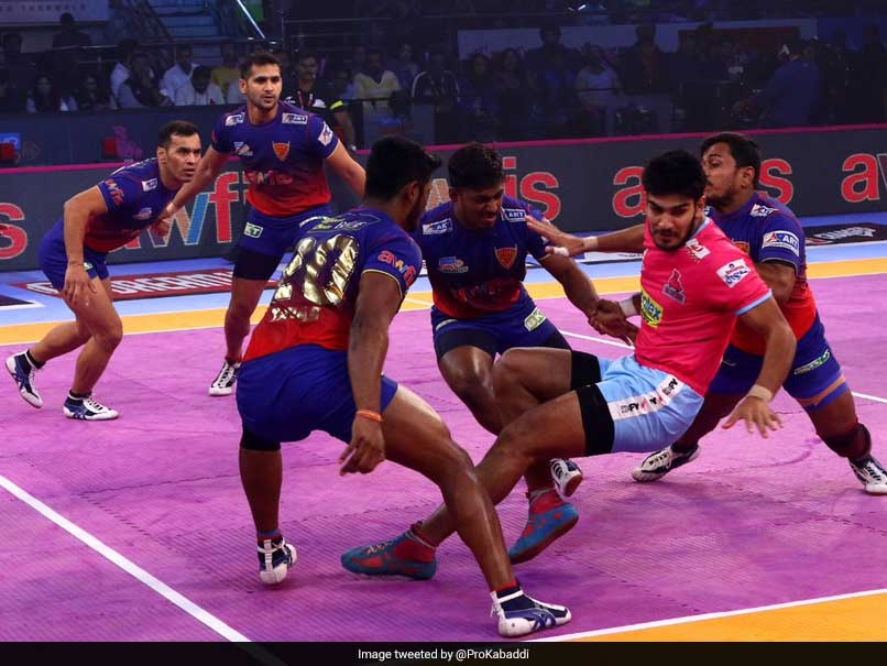 Pro Kabaddi League: Dabang Delhi Play Out A Thrilling Tie Against Jaipur Pink Panthers