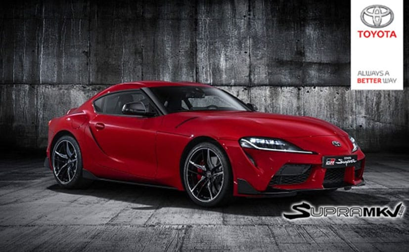2019 Toyota Supra Official Images Leaked Ahead Of Debut In January