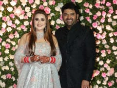 Pics From Kapil Sharma And Ginni Chatrath's Star-Studded Wedding Reception In Mumbai