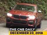 Video : BMW X4 Launch, Mahindra XUV300 Electric, Renault Sales
