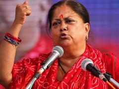 Election Panel Should Act: Vasundhara Raje On Sharad Yadav's Body-Shaming