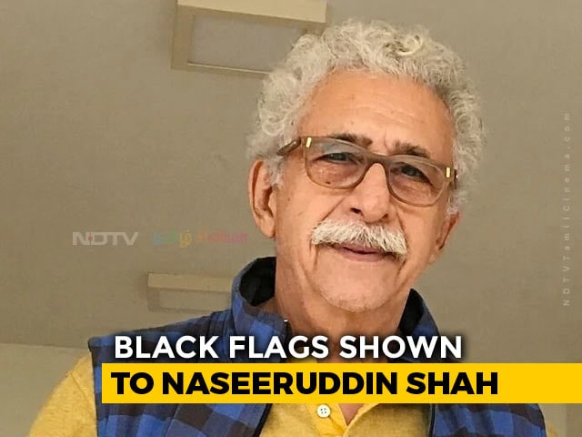 Video : Naseeruddin Shah's Event At Ajmer Literature Fest Cancelled Amid Protests