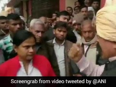 """Don't You Realise My Power?"" BJP Lawmaker Threatens Officer On Camera"