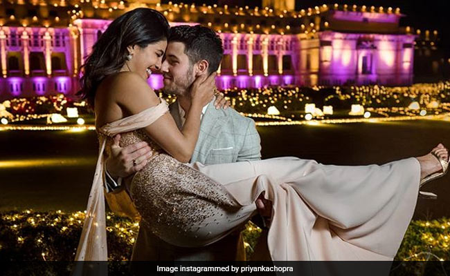 Here's taking you inside Priyanka and Nick's first Mumbai reception