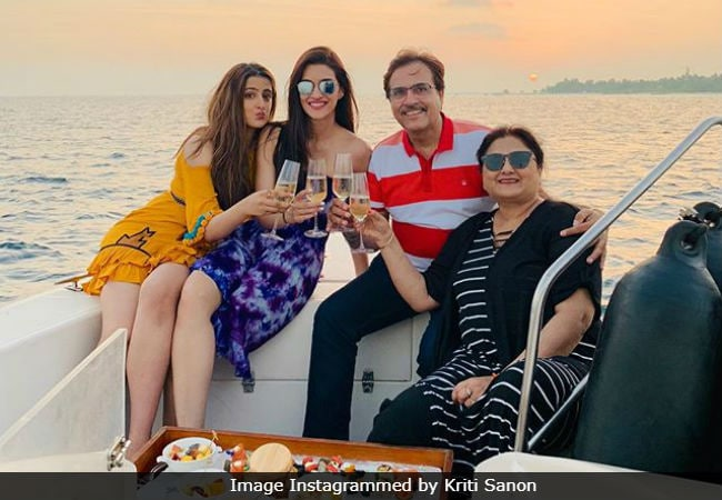 Pics From Kriti Sanon's Maldives Vacation Will Make You Go Green With Envy