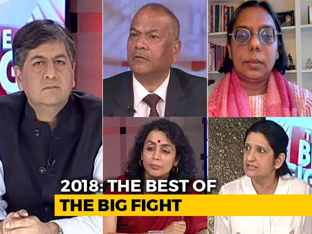 Video : The Big Fight: Best of 2018
