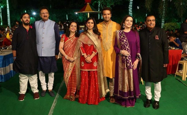 Isha Ambani Begins Pre-Wedding Celebrations With 'Anna Seva' In Udaipur