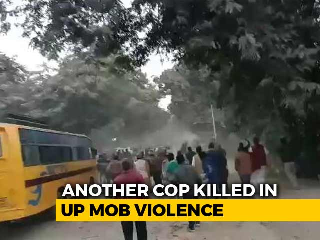 Video : Hours After PM's Rally, Cop Killed By Stone-Throwing Mob In UP's Ghazipur