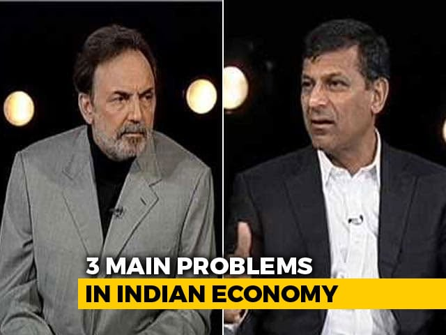 Video : Raghuram Rajan On 3 Main Problems In Indian Economy