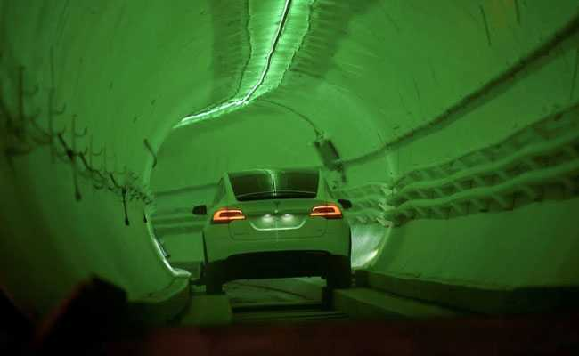 Elon Musk's Tunnel To Solve 'Soul-Destroying' Traffic Jam Is Now Open